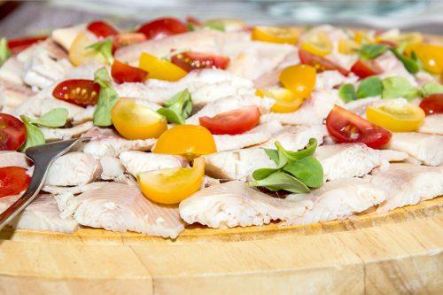 buffet van huisgemaakte salade catering wageningen